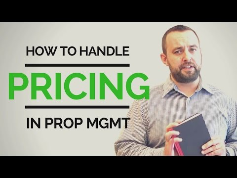 How to Handle Pricing for Your Property Management Services