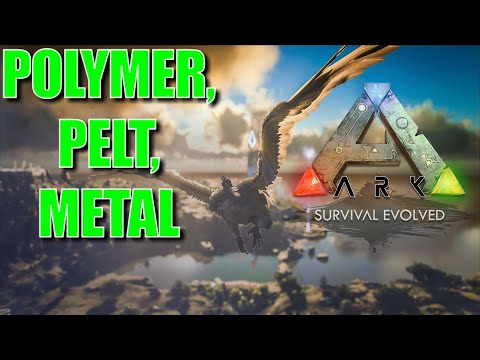 ARK Survival Evolved - Farming OIL, CHITIN, PEARLS, ORGANIC POLYMER, PELT, METAL! 2 ✔