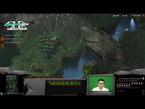 Starcraft 2 - Some Diamond League play...we should study bui