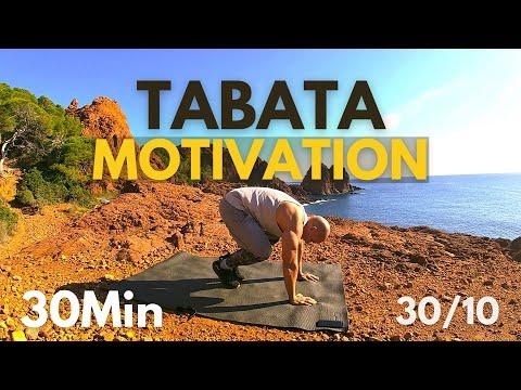 Tabata 30 min full body workout motivation / Hiit workout / Interval training music