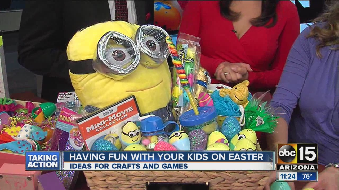 Diy easter basket ideas with non food items youtube negle Images