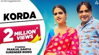 Korda Ruchika Jangid Surender Romio Free MP3 Song Download 320 Kbps