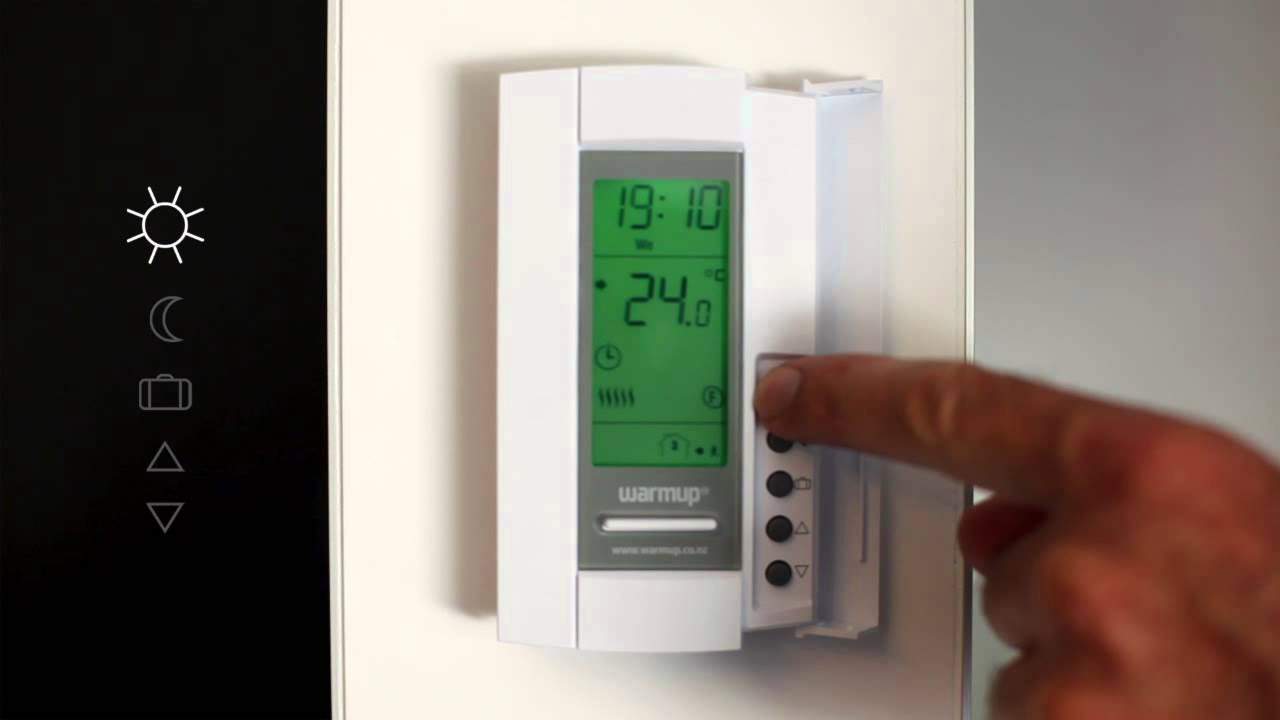 th 115 thermostat setup guide youtube rh youtube com Aube Thermostat Electric Heated Aube Thermostat