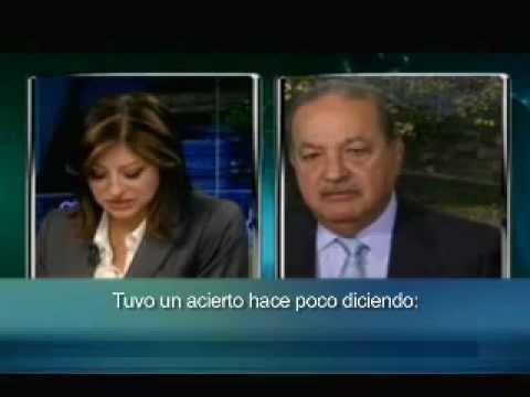 Entrevista al Ing. Carlos Slim por Maria Bartiromo, de CNBC.