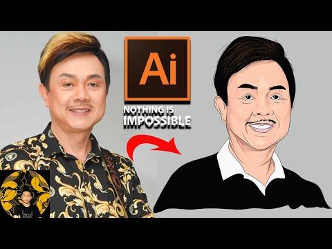 Adobe Illustrator - Vẽ Nghệ Sĩ Chí Tài bằng Ai