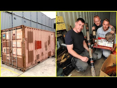 These Guys Bought A Shipping Container For $335 – Then Found