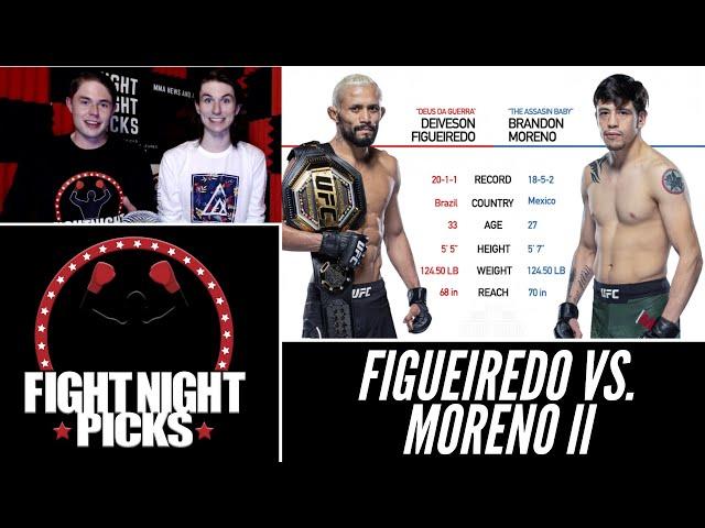UFC 263: Deiveson Figueiredo vs. Brandon Moreno II Prediction