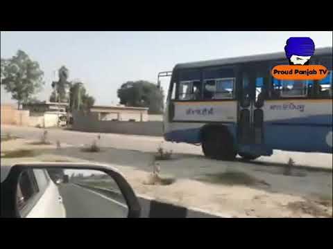 PRTC BUS De ਮੂਰਖ ਡਰਾਈਵਰ ਦੇ ਹਾਲ ਅਣਗਹਿਲੀ ਸਾਫ ਨਜ਼ਰ ਆ ਰਹੀ ਆ | Proud Punjab TV |