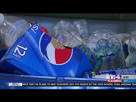 City of Tucson says many residents are not recycling the right items