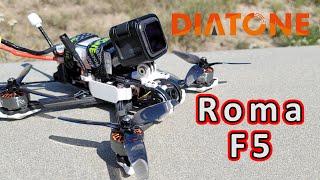 Vidéo: Diatone ROMA F5 6S Analog freestyle PNP