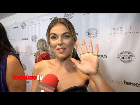 Serinda Swan   3rd Annual Unlikely Heroes Awards Gala  Red Carpet