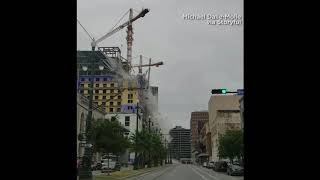 Hard Rock Hotel collapse in New Orleans caught on video | 10News WTSP