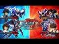 Kidou Senshi Gundam Extreme Vs Protagonist Throwdown Heero, Kira, Domon and Setsuna
