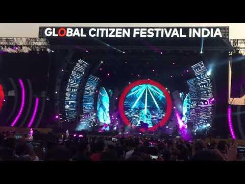 Global Citizen Festival - A.R - Humma Humma
