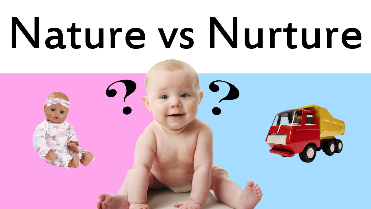 The nature/nurture debate in childhood development.