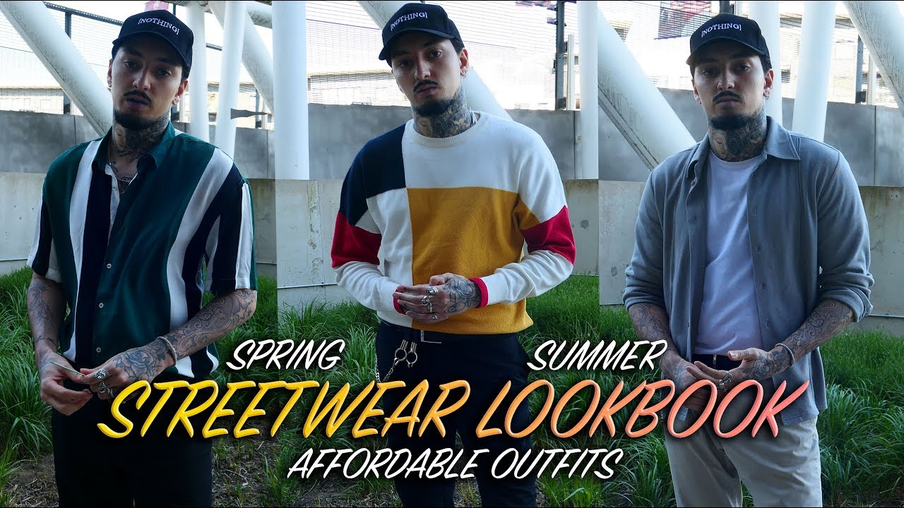 STREETWEAR LOOKBOOK   AFFORDABLE SPRING SUMMER OUTFITS 6