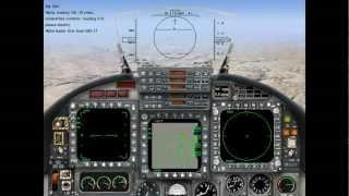 Jane's Israeli Air Force / כוכב כחול -- Playing the Demo