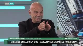 Entrevista a Martín Caparrós, por María O'Donnell - 50 Minutos | LN+
