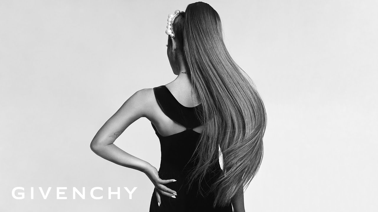 Ariana Grande Channels Audrey Hepburn As New Face Of Givenchy Video Hollywood Life