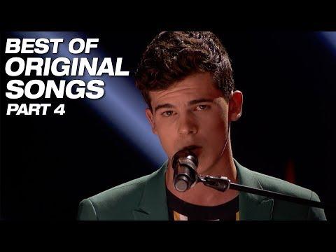 Best Original Songs From Season 13 Part 4 - America's Got Talent 2018