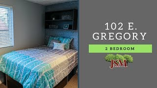 102 E. Gregory - 2 Bedrooms - A2 Overview