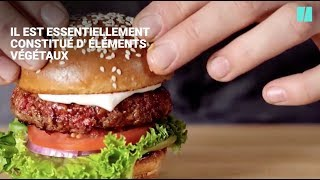 Ce burger saignant est en fait un burger vegan et veut conquérir le monde