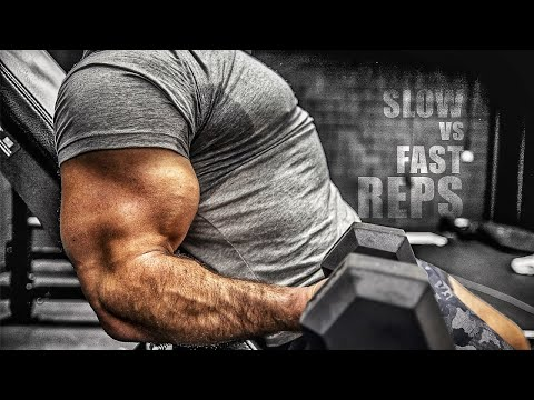 Slow Reps Vs Fast Reps For Muscle Growth Youtube
