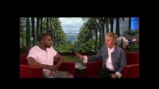 Kanye on His Relationship with Kim Kardashian on Ellen show