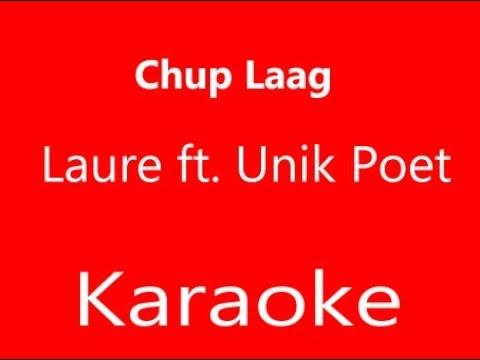 LAURE - CHUP LAAG FT. UNIQ POET KARAOKE VERSION (Track)