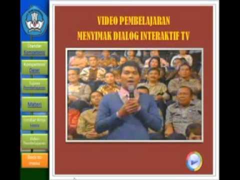 Media Pembelajaran Menyimak Dialog Interaktif Youtube