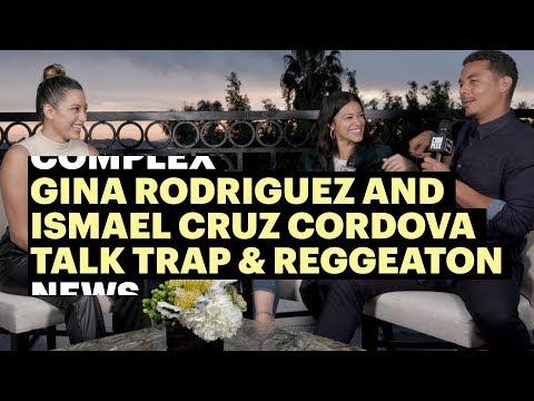 Gina Rodriguez and Ismael Cruz Cordova Talk Bad Bunny vs J.Balvin