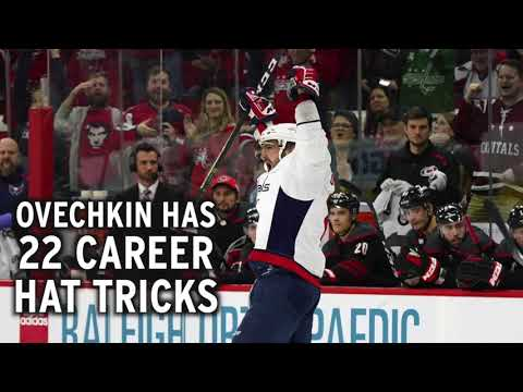 Alex Ovechkin scores back-to-back hat tricks... again