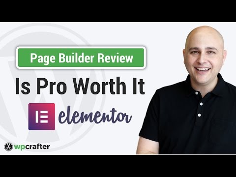 Elementor Pro Review & Walkthrough - 2017 Best WordPress Page Builder Plugin? 🍾