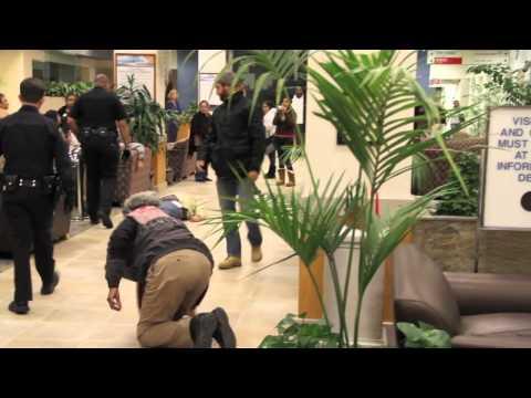 OLB Die-In at Long Beach Memorial