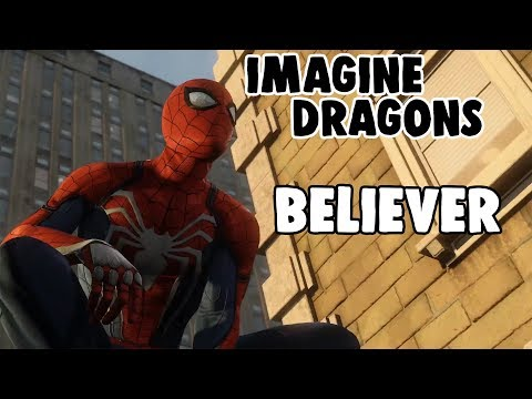 Spider-Man PS4 Trailer Edit | Imagine Dragons - Believer (Kaskade Remix)