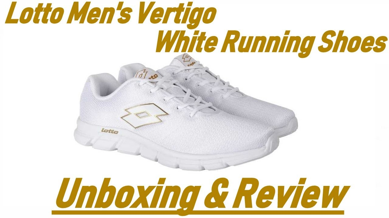 Vertigo White Running Shoes Unboxing