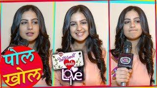 Tunisha Sharma aka Aadhya Of Internet Wala Love Reveals Secret Of Sets