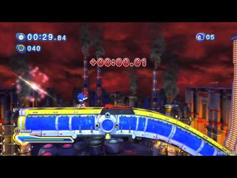 Sonic Generations PS3 - [Part 2 ~ Chemical Plant Zone ~ Act 01 / 02]