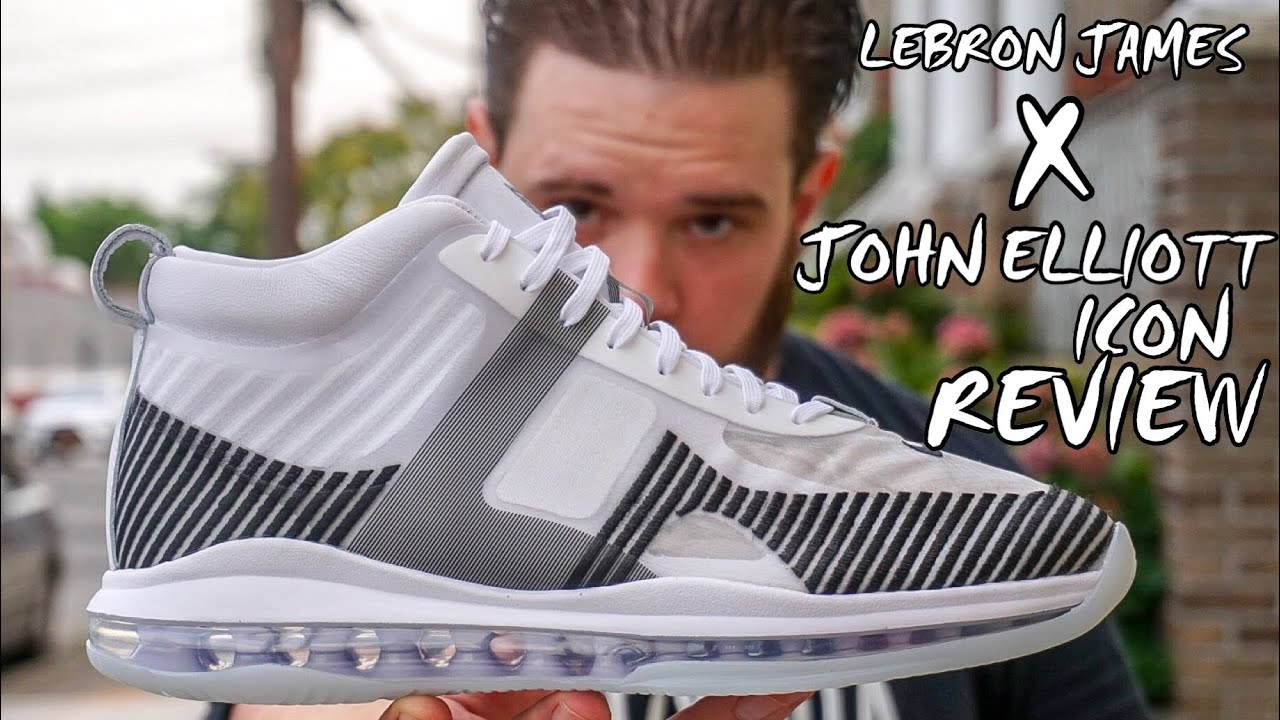 6a595eb11 LEBRON JAMES X JOHN ELLIOTT ICON QS REVIEW