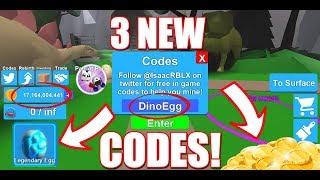 3 New Codes Mining Simulator - Legendary Egg! (Roblox)