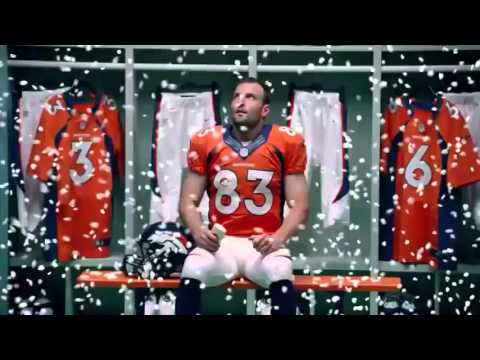 Funny OLD SPICE  Snow Globe  Wes Welker Commercial
