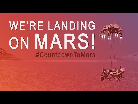 Feb. 18: We're Landing a Rover on Mars!