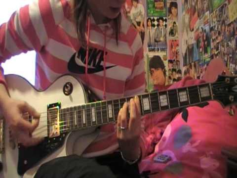 jonas brothers paranoid   guitar