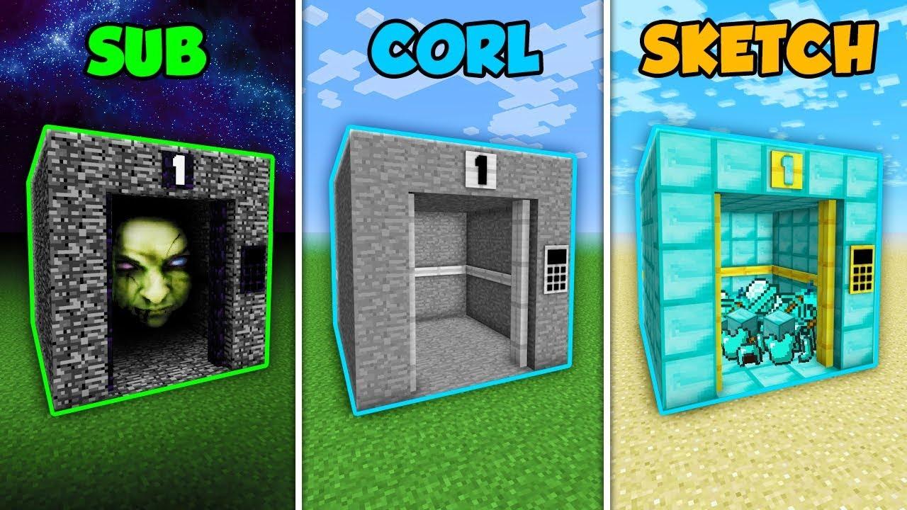 sub-vs-corl-vs-sketch-the-normal-elevator-in-minecraft-the-pals