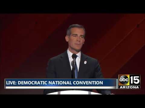 FULL: Mayor Eric Garcetti - Democratic National Convention