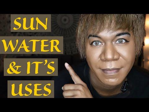 SUN WATER & IT'S USES