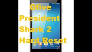 Gfive President Shark 2 Pattern Unlock solution
