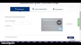 American Express (Amex) Credit Card Login