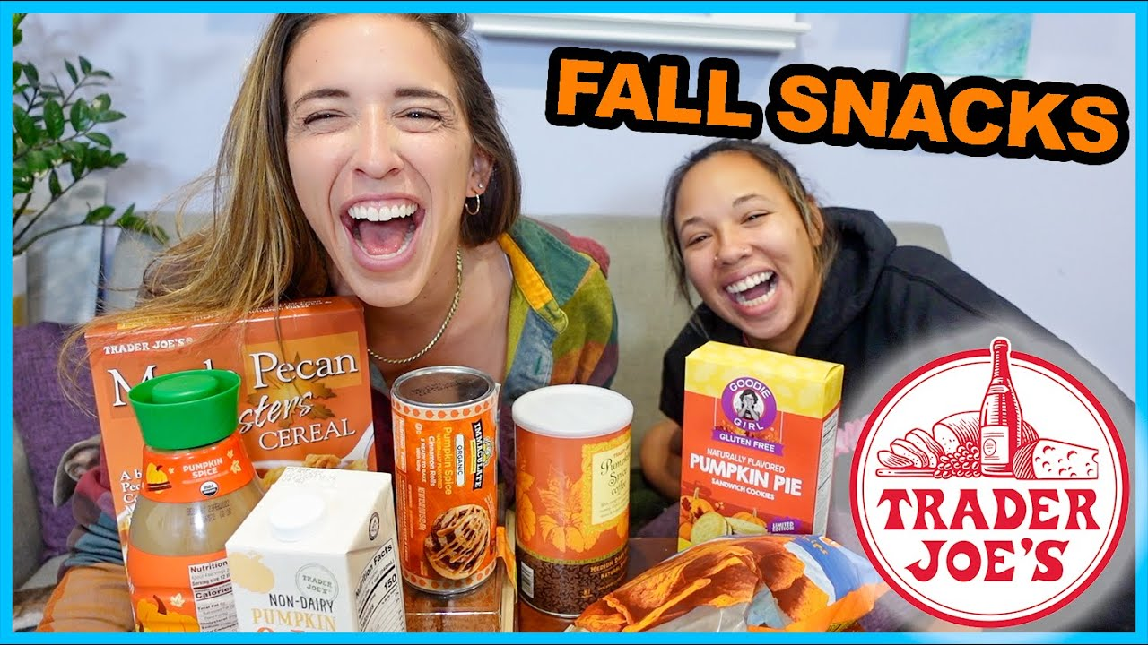 Trying Autumn/Fall Snacks!