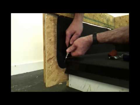 How To Finish A Flat Roof With Epdm Membrane Upstand
